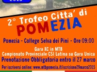 Gara Cross Country/XCo a Pomezia 2015